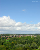 Winchester from St Catherine's Hill
