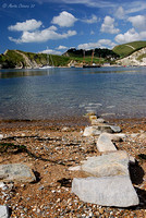 Stepping Stones at Lulworth Cove